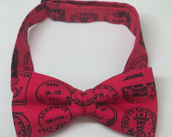 Kids Bright Pink Ready Tie Bow Tie - matching pocket square available