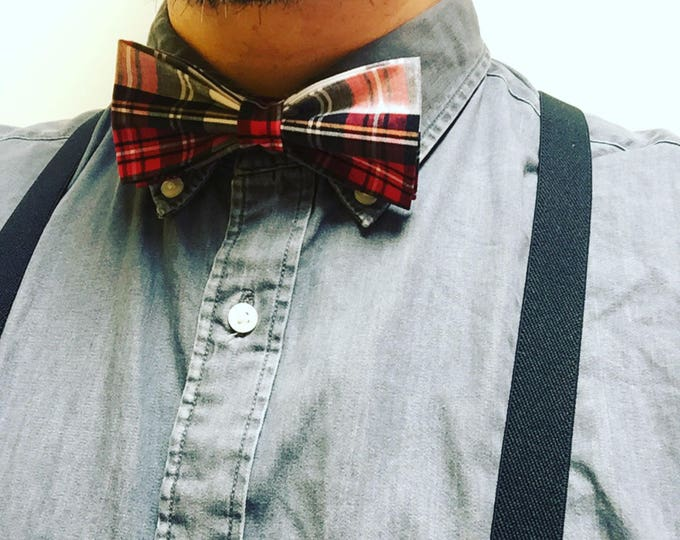 Men's Tartan Ready Bow Tie