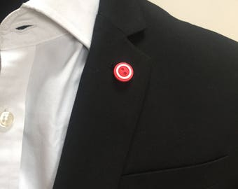 Button Lapel Pins