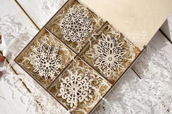 Etsy Christmas Ornaments.Shoptagr Christmas Snowflake Snowflakes Christmas Decor