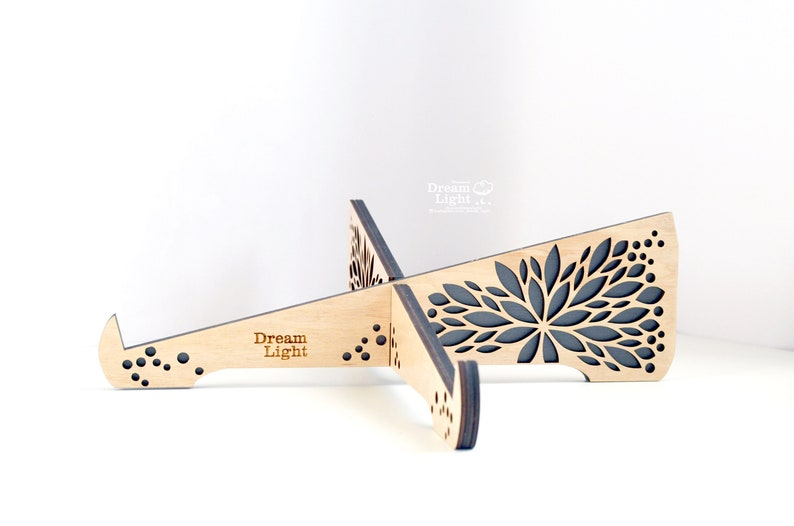 Eco-Friendly Wood Laptop Stand MacBook stand Notebook Stand Laptop Riser Customised Company Gifts