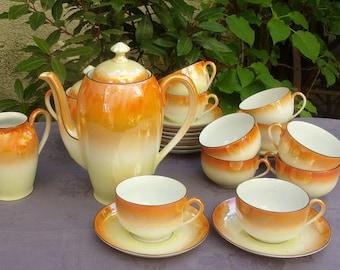 Vintage fine bone China coffee set