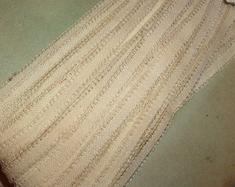 Old lace for 10 meters, old lace, old Ribbon lace