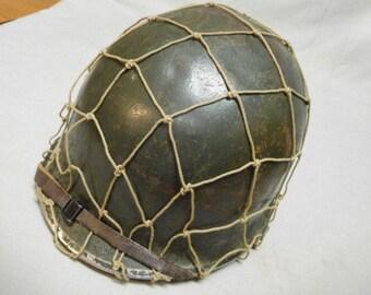 977872f0 U.S. M1 Helmet w/Netting - Korea * HU-880