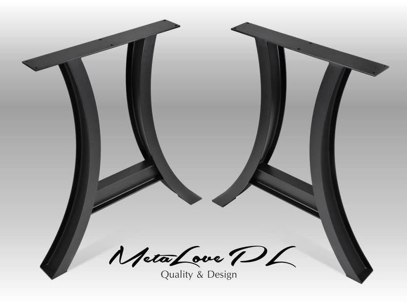 Beroemd Eettafel tafelpoten tafel metalen poten Bureau poten | Etsy XE34