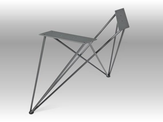 stahlbeine tischbeine tisch metall beine esstisch etsy. Black Bedroom Furniture Sets. Home Design Ideas
