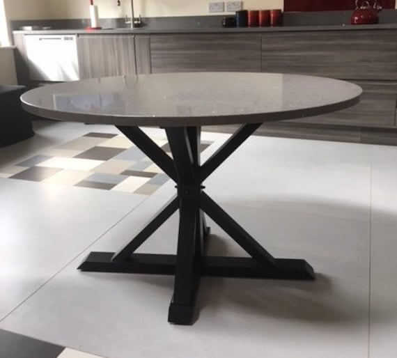 Gambe tavolo rotondo, tavolo Base per piano in vetro moderno tavolino  rotondo tavolo Base, tavola rotonda, Base per tavoli, gambe, VITOX 80.40