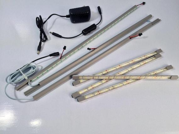 Illuminazione Per Vetrina Detolf : Ikea detolf led kit luci di downlighter led progettato etsy