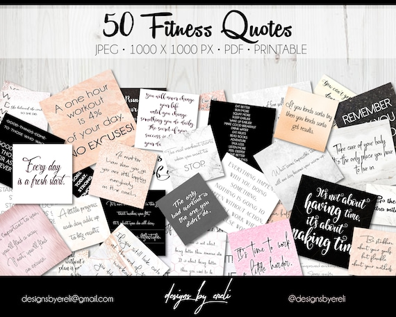 50 fitness quotes for your vision board, Printable quotes Motivational  quotes, Pictures Inspirational quotes Download, Health Motivation