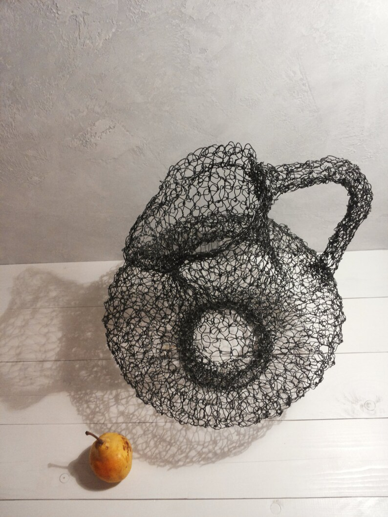 Wire Sculpture Rustic Decor Birthday Gift Home