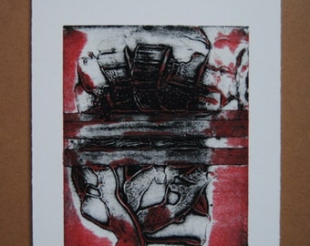 Untitled Collograph #2