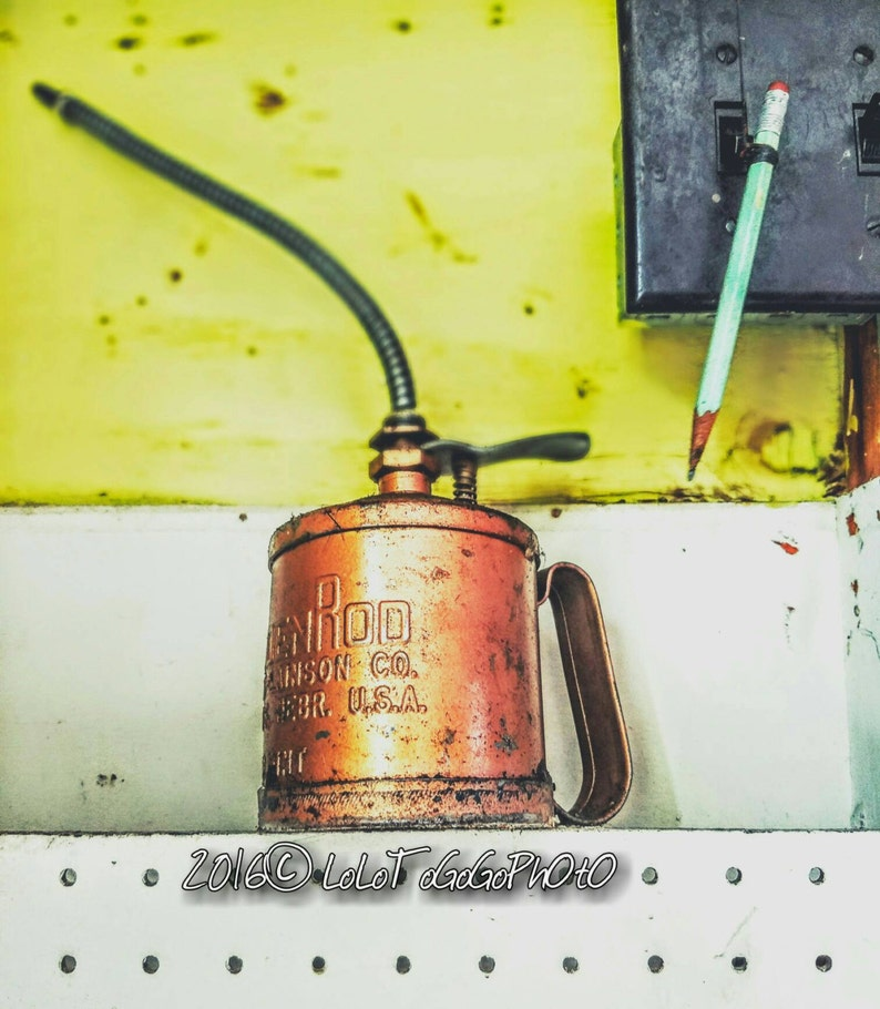 Vintage Oil can, old oil cans, tin man oilcan, oil can photographs, Garage  Treasure, New Orleans Photography, New Orleans Vintage Art