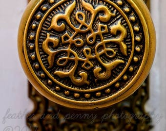 New Orleans Photography, New Orleans Prints, New Orleans Art, New Orleans Decor, Antique door knobs, ornate door knobs, French Quarter, NOLA