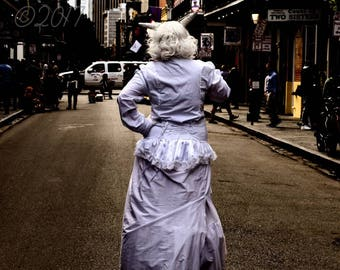 New Orleans Photography, New Orleans Prints, New Orleans Art, New Orleans Decor, New Orleans People, Street Performer, NOLA, French Quarter