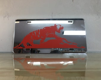 Clemson Tiger License Plate | Clemson License Plate
