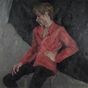 Odessa artist Pilipchuk Portrait European Fine Art Male Nude Original oil painting One of a kind