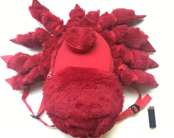 Red Tarantula Spider Backpack