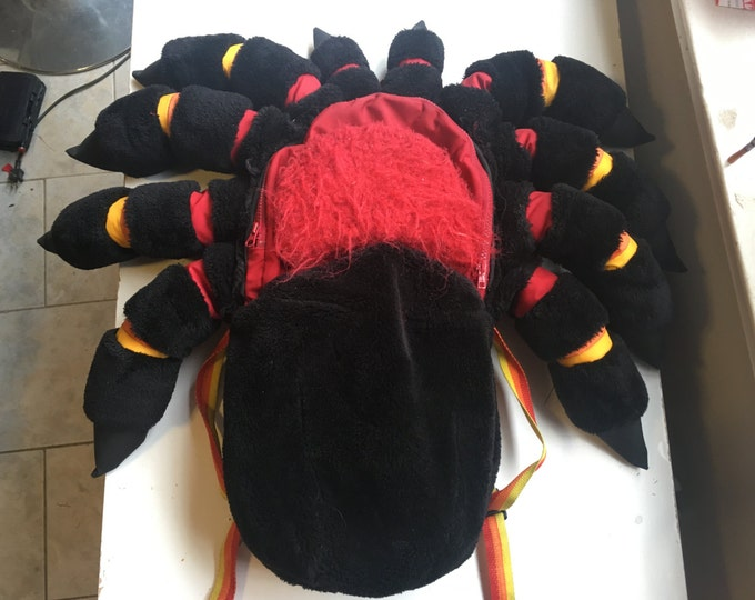 Mexican Red Knee Tarantula Spider Backpack