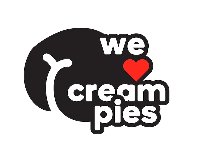 We heart cream pies SVG adult illustration butt inappropriate funny cut files for cricut vector drawing adult clipart xxx ass funny cutter