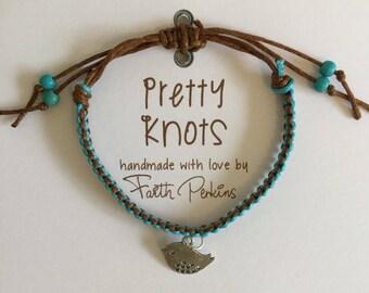 Boho Friendship Bracelet 'Tweety Bird'