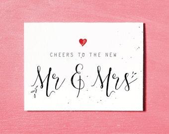 wedding gift card etsy