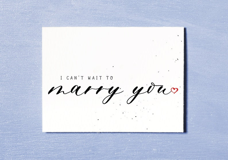 I Can't Wait To Marry You Groom Wedding Day Bride image 0