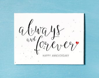Anniversary Card, Instant Download Printable, Couples Card, Relationship Print, Wedding Anniversary Celebration, Anniversary Gift, Love You