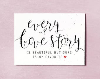Love Quote Card, Instant Download Printable, Anniversary Gift Card, Love You Card, Wedding Gift, Couples Relationship Card, Valentines Card