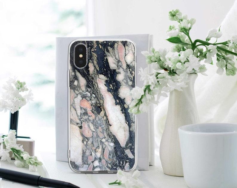Marble Google Pixel 3 Case White IPhone XR Case Black IPhone XS Max Case  IPhone 8 Plus Case Modern Case Cracks IPhone 8 Case RL0143