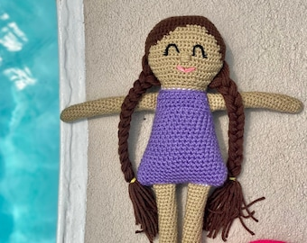 CROCHET PATTERN- Amigurumi Doll Bathing Suit Pattern, Crochet Baby Doll Swimsuit Pattern, Crochet Gracie Doll Swimsuit Patter, Crochet Toys