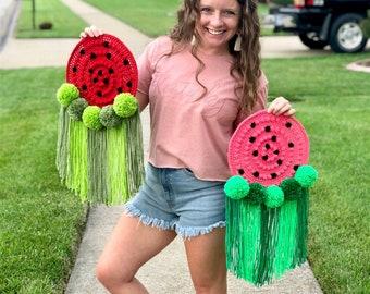 Watermelon Wall Hanging, Watermelon Wall Decor, Watermelon Home Decor, Watermelon Decorations, Watermelon Photo Prop, Wall Tapestry, Summer