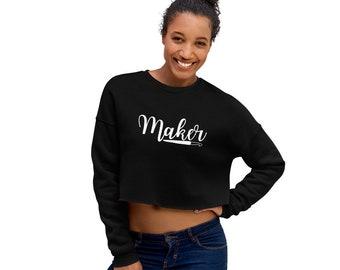 Maker Crop Sweatshirt