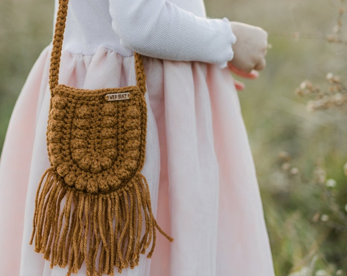 Featured listing image: CROCHET PATTERN- Crochet Bag, Crochet Purse, Crossbody Bag, Crochet Boho Bag, Crochet Toddler Purse Pattern, DIGITAL Download pdf