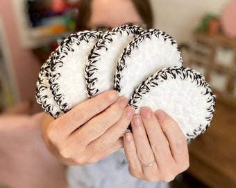 CROCHET PATTERN-  Face Scrubbies Pattern, Crochet Scrubby, Crochet Makeup Remover Pad, Easy Crochet Patterns, Reusable Crochet Patterns