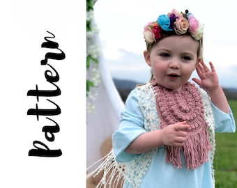 Crochet Baby Bib Pattern, Crochet Bib Pattern, Crochet Baby Bib, Baby Bib Pattern, Crochet Baby Gift, Crochet for baby, DIGITAL DOWNLOAD