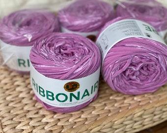 Ribbonaire Yarn From Lionbrand- Destash- New