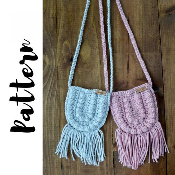 Crochet Bag Pattern Crochet Purse Pattern Crochet Boho Bag Etsy
