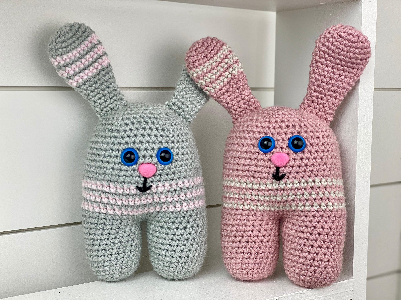 Bunnies in Dresses - Amigurumi Crochet Rabbit Doll Gifts for Sisters | 2250x3000