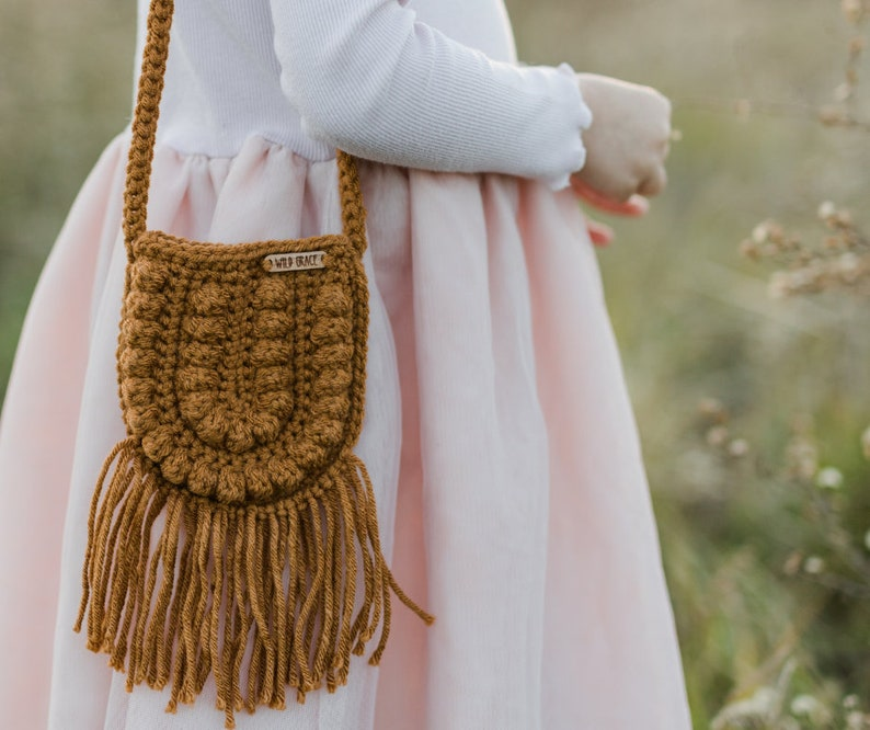 CROCHET PATTERN Crochet Bag Crochet Purse Crossbody Bag image 0