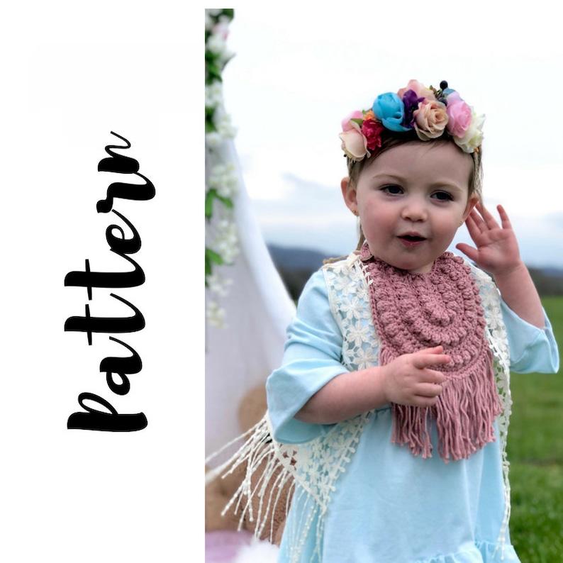 Crochet Baby Bib Pattern Crochet Bib Pattern Crochet Baby Etsy