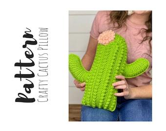 Crafty Cactus Pillow Pattern 2020