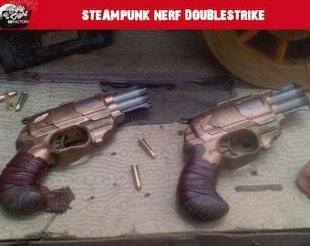 Steampunk gun nerf Doublestrike
