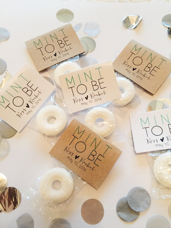 400 Wedding Favors Mint To Be Wedding Favors Mint Favors Etsy