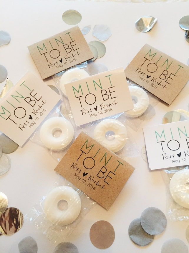 300 Wedding Favors Mint To Be Wedding Favors Mint Favors Etsy