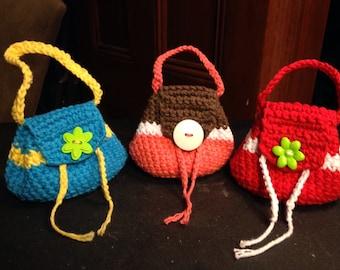 Little First Handbag, coin purse, pouch for little girls