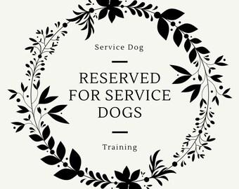 Service Dog | READ DESCRIPTION