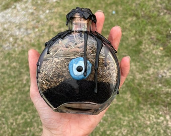 Evil Eye Protective Altar Jar