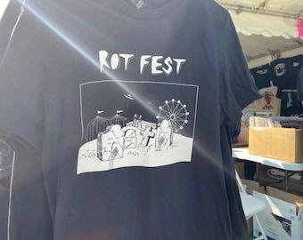 ROT FEST | Riot Fest inspired tee