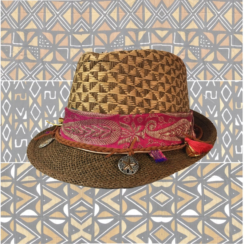 32da67c8f88 Fedora hat leather hat straw hat sun hats hats for women