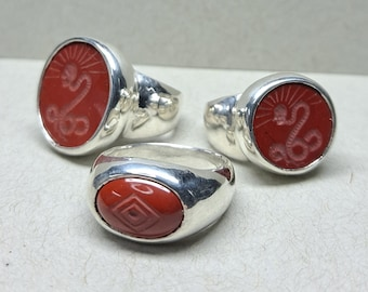 Three Ring Gift Suite - Red Jasper - Made to Order